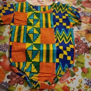 Multi colored  onesie